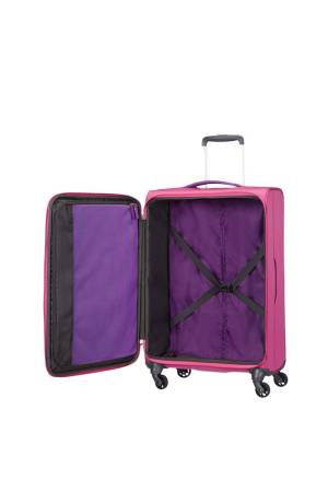 American Tourister Lightway Super Light Spinner 67 roze | Wennekes.nl