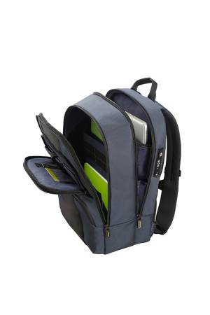 Samsonite Infinipak Security Backpack 15,6 blauw combi | Wennekes.nl