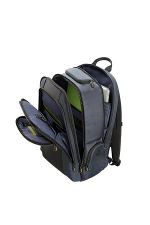 Samsonite Infinipak Laptop Backpack 17,3 blauw combi | Wennekes.nl