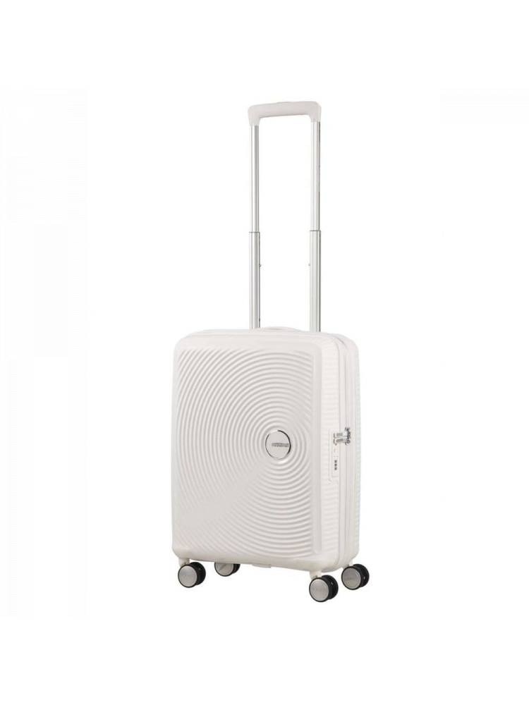 American Tourister Soundbox Spinner 55/20 Tsa Exp wit | Wennekes.nl