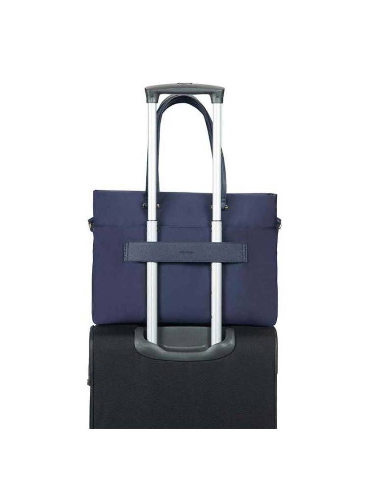 Samsonite Zalia Shopping Bag 15.6 blauw | Wennekes.nl