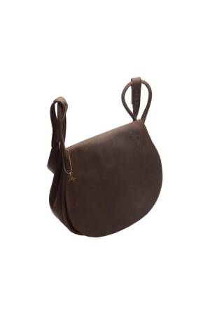 Myomy Do Goods Damestas leder My Saddle Bag