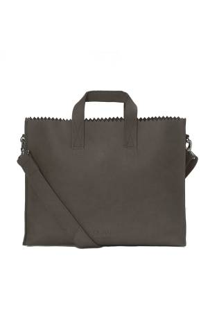 Myomy Do Goods Damestas leder My Paper Bag Businessbag