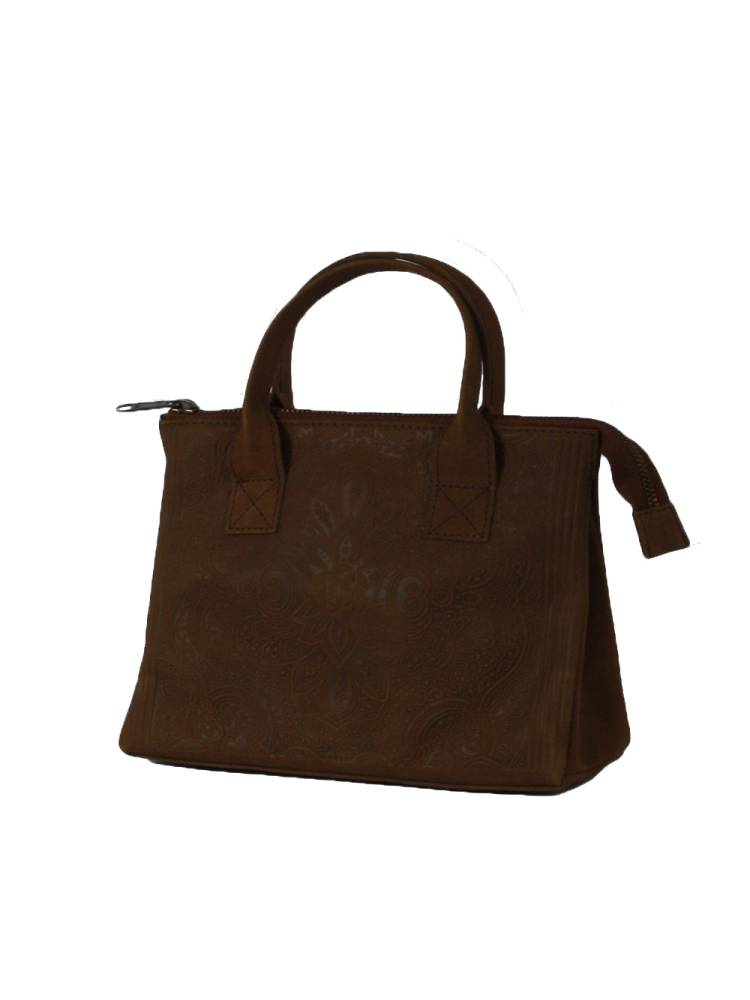 Myomy Do Goods My Classic Bag 12hrs FOL bruin | Wennekes.nl