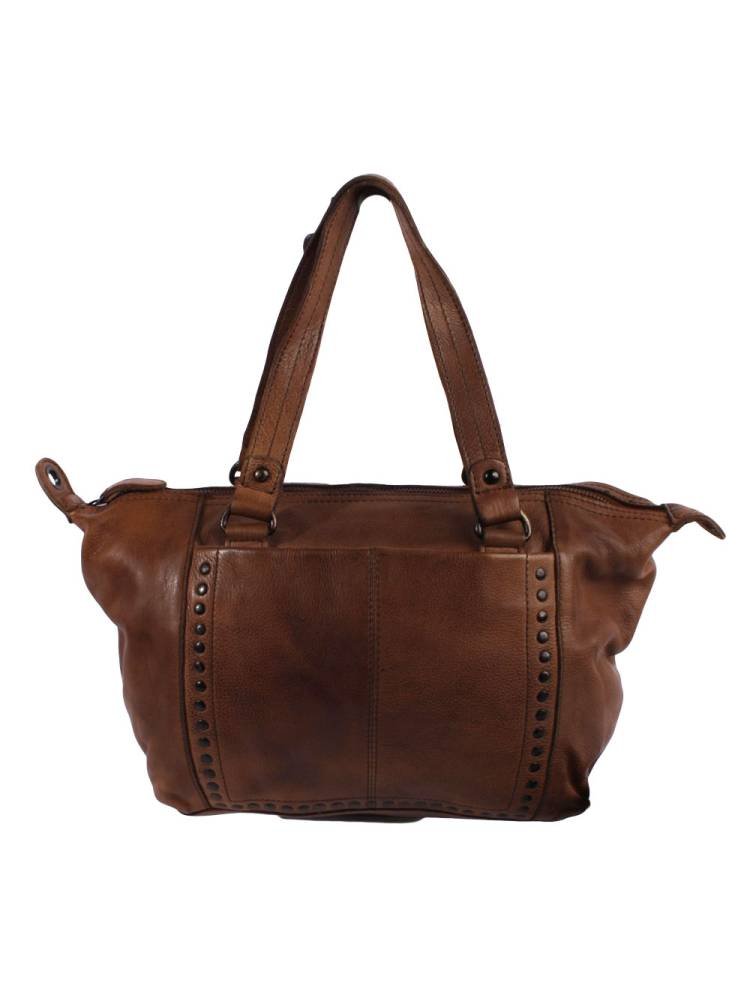 Awesome Awesome Ladies Bag Leather bruin | Wennekes.nl