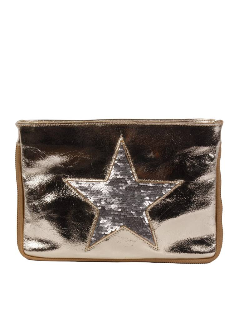 Florence Bags Glittering Star Clutch oud | Wennekes.nl