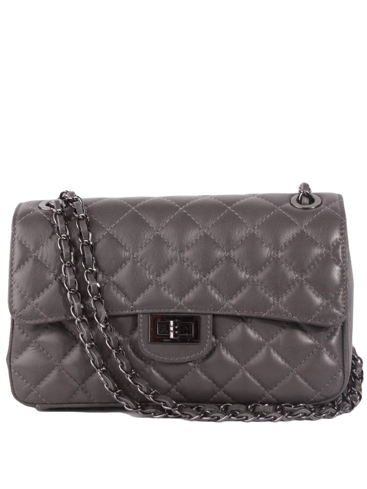 9f725bec064 Florence Bags Little Quilted Bag L grijs | Wennekes.nl
