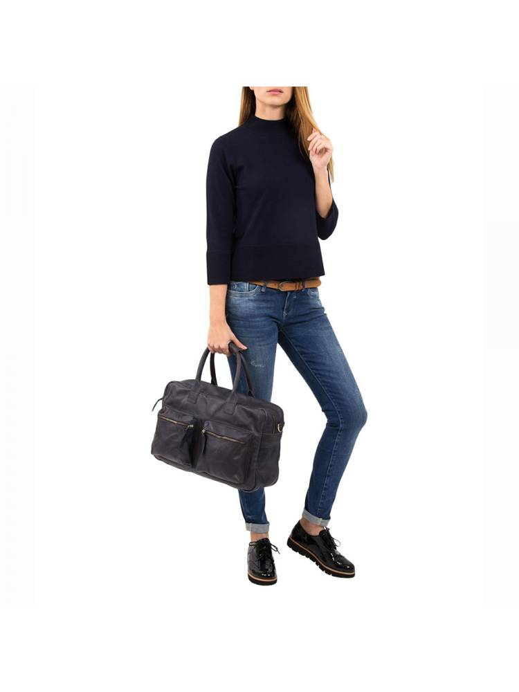 Cowboysbag The Bag 1030 800 blauw | Wennekes.nl