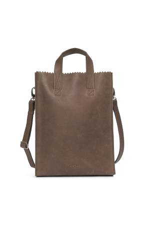 Myomy Do Goods Damestas leder My Paper Bag Handle Cross Body