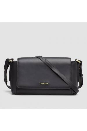 Calvin Klein Damestas leder Chrissy Medium crossover