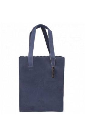 Myomy Do Goods Damestas leder My Paper Bag Long Handle Zip