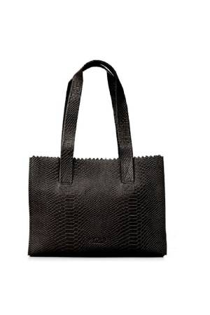 Myomy Do Goods Damestas leder My Paper Bag Handbag