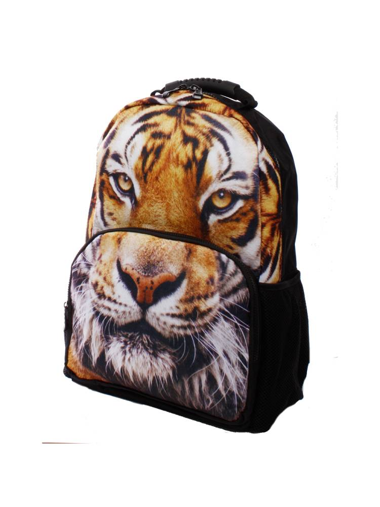 Line Animal Print Tiger multicolour | Wennekes.nl