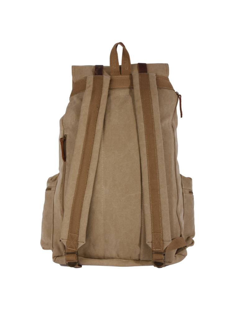 Awesome Awesome Backpack Canvas bruin | Wennekes.nl