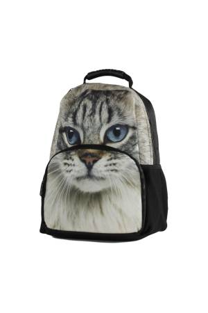 Line Animal Print Cat multicolour | Wennekes.nl