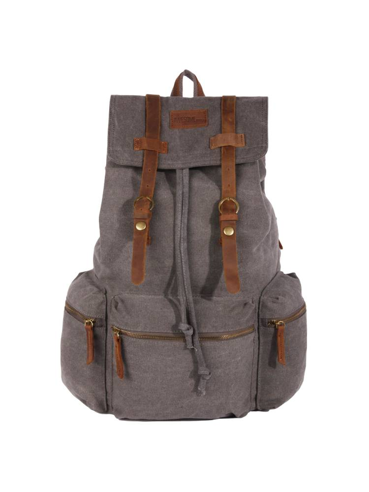 Awesome Awesome Backpack Canvas grijs | Wennekes.nl
