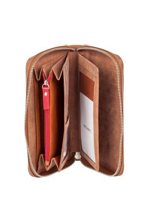 Burkely Wallet L Stacey Star bruin | Wennekes.nl