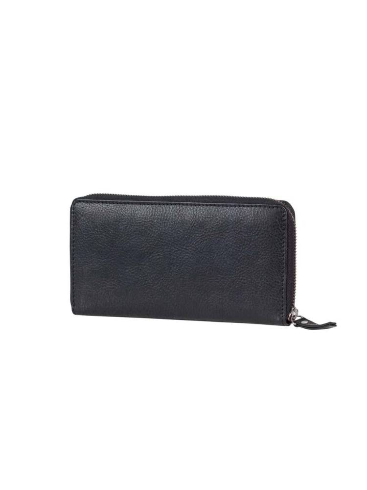 Burkely Antique Avery Wallet L zwart | Wennekes.nl
