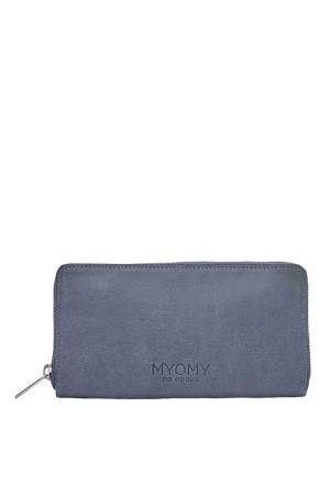 Myomy Do Goods My Paper Bag Wallet blauw | Wennekes.nl