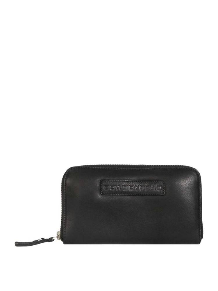 Cowboysbag Easy Going Wallet Paterson zwart | Wennekes.nl